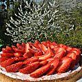 Tarte aux fraise recette de hugues pouget