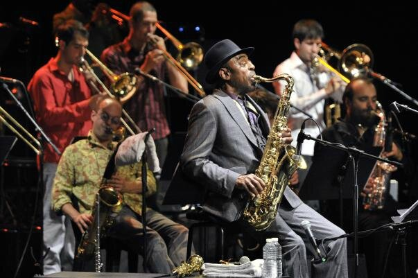 Archie Shepp Attica Blues Orchestra - photo Francis Vernhet