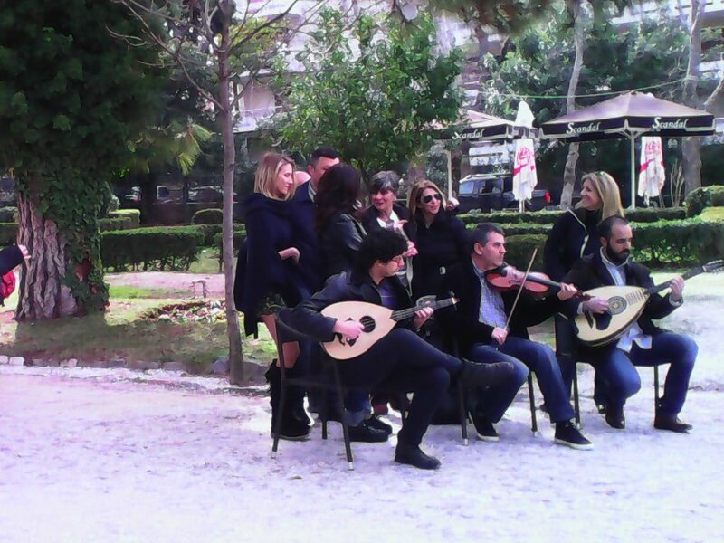 Parc Kifissia Silence on troune musiciens