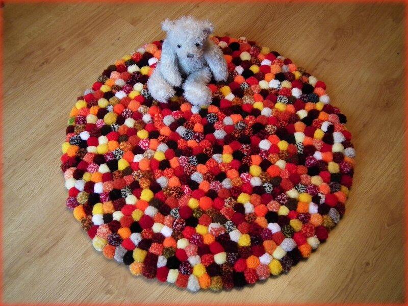 tapis orange1