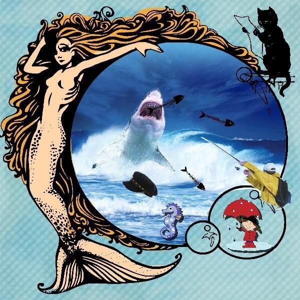 * defi humour, Le pêcheur de baleine