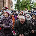Rt-contre «l'islamisation de l'europe», des milliers de catholiques polonais prient à leurs frontières