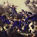 castellani, Les marin au bourget pendant le siège de Paris