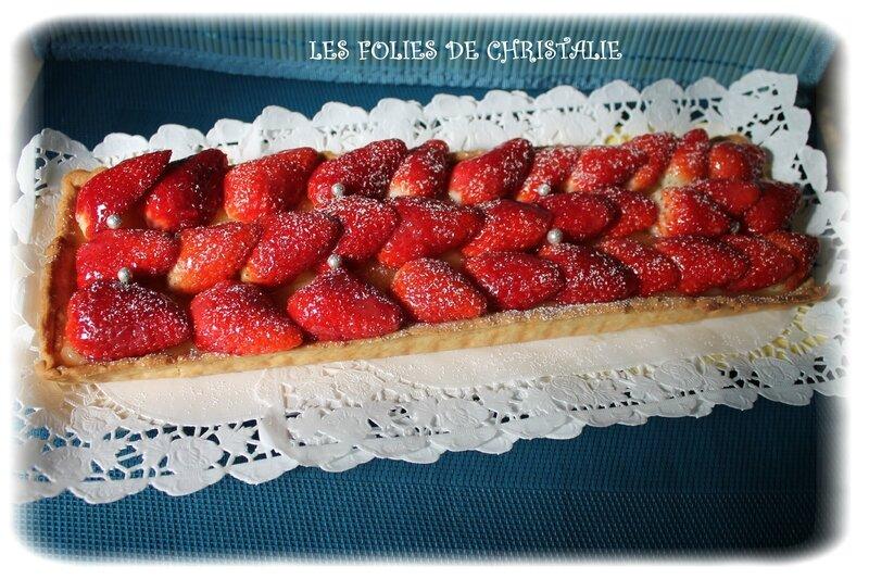 Tarte aux fraises 7