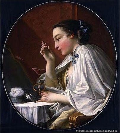 François Boucher Une Dame à sa Toilette_thumb