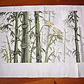 Les bambous et les tableautins de noël (4)