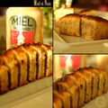 Cake aux noix et miel