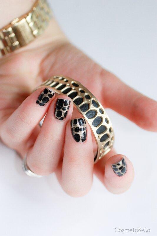 nail art bracelet panthère les georgettes-3