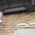 Rue claude bonnier