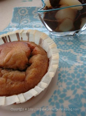 muffin+poire