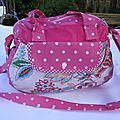 Mon nouveau sac rose