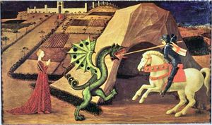 Paollo Ucello_Saint Georges et le Dragon