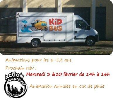 Quartier Drouot - KidBus Action quartiers