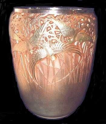 Vase - Aigrettes - Rose