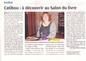 article NR salon Loudun 2012