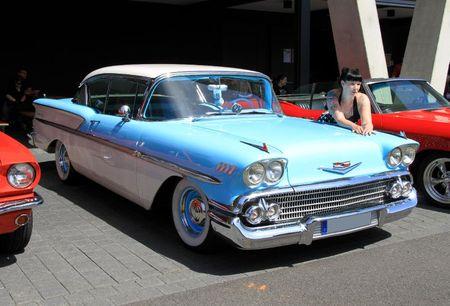 Chevrolet bel air hardtop sedan 2 door de 1958 (RegioMotoClassica 2011) 04
