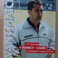 Avant match Nancy-Caen, saison 2002/03
