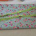 Pochette de rangement en tissu