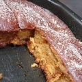 Gâteau aux pommes caramélisées et à la ricotta