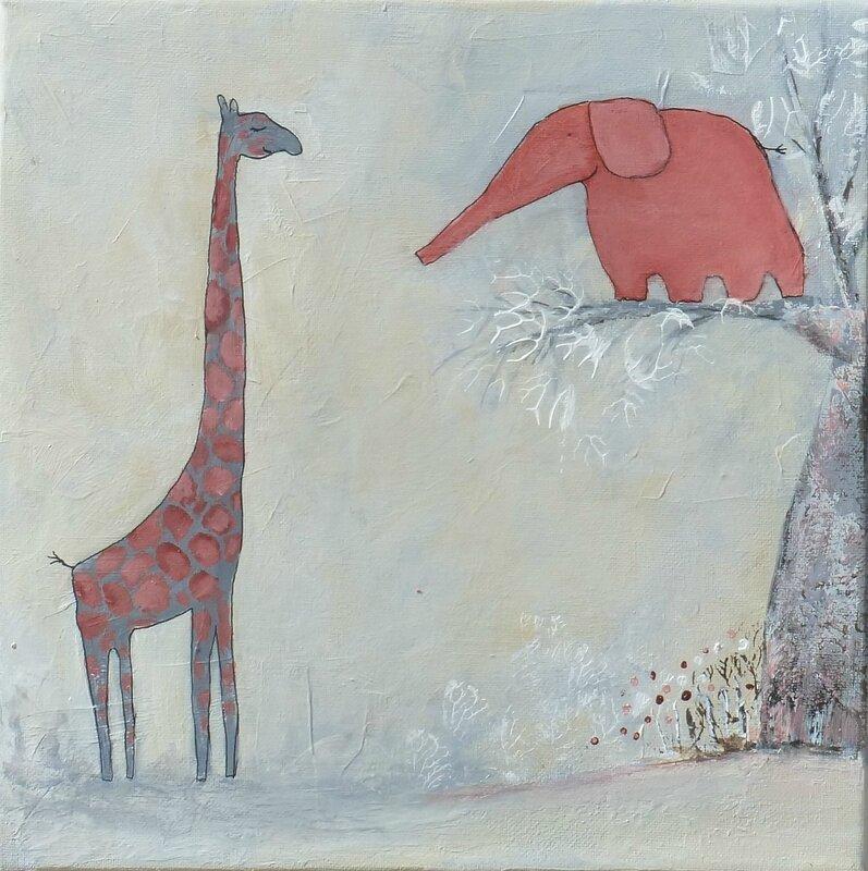 elephant-amoureux-d-1-girafe-a