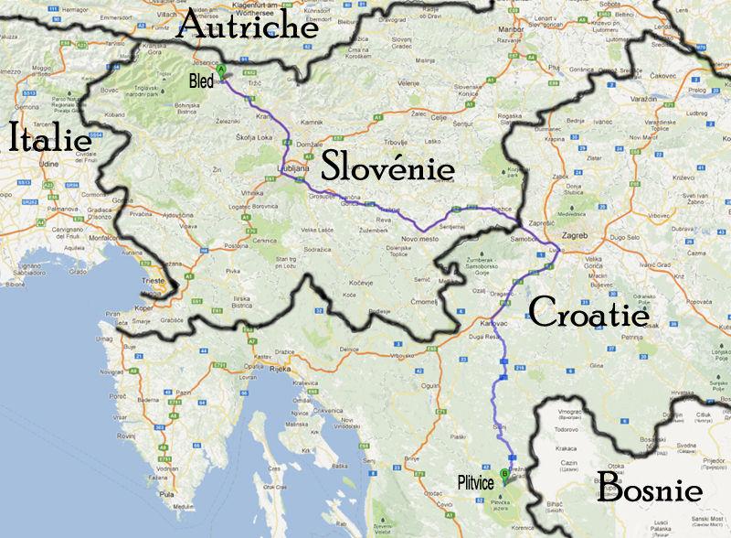 sortie 4: les lacs de Plitvice