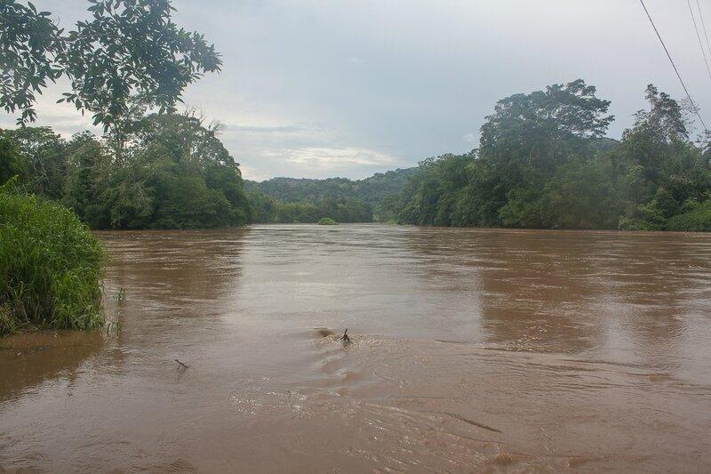 passage de la rivière