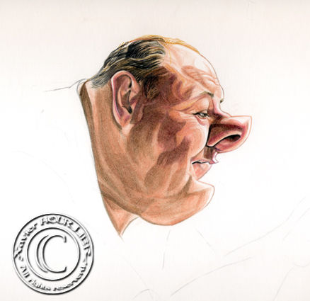 JAMES_GANDOLFINI_by_xavier_hourlier