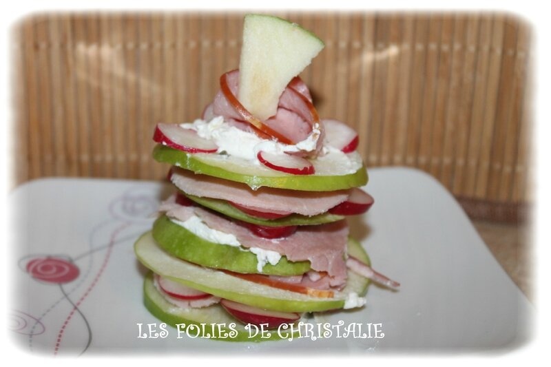 Millefeuilles bacon 2