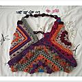 sac free form crochet