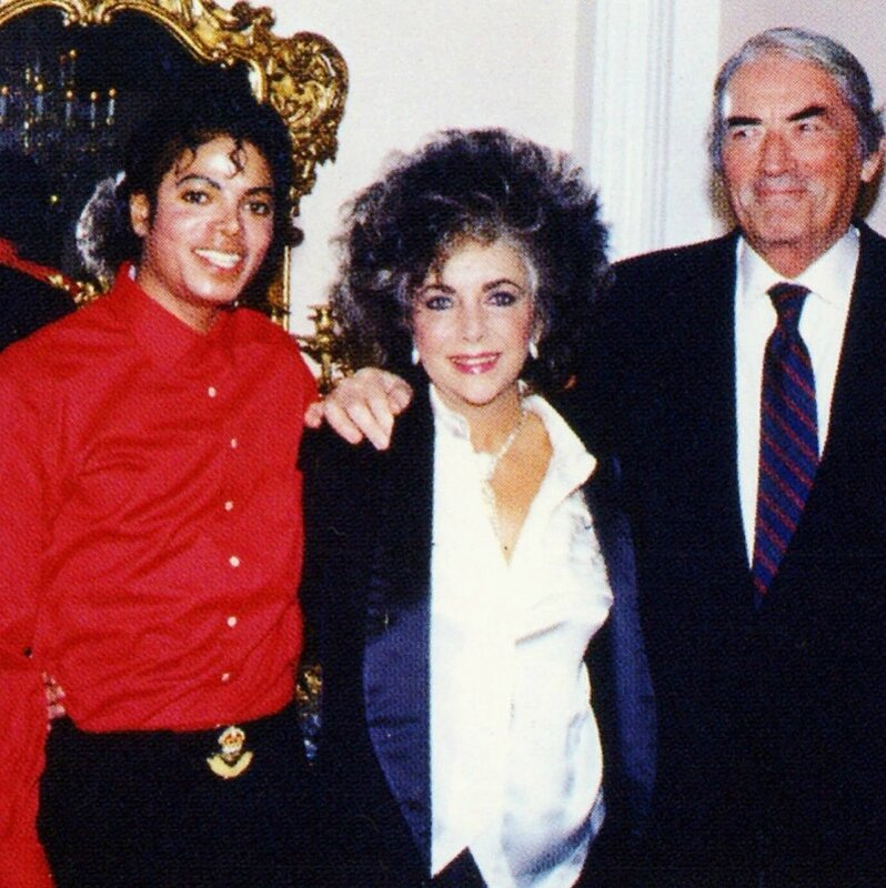 MJ LT Gregory peck 1986