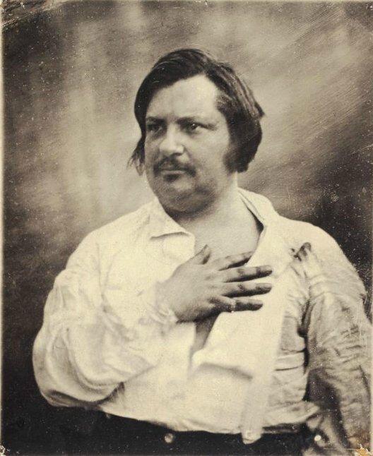 Balzac4 daguerreotype de Bisson