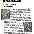 Exposition 2012, luxeuil-les-bains