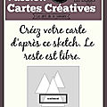 Carte défi 519 passion cartes creatives