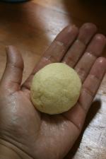 Mini harcha au fromage et olives noires 5