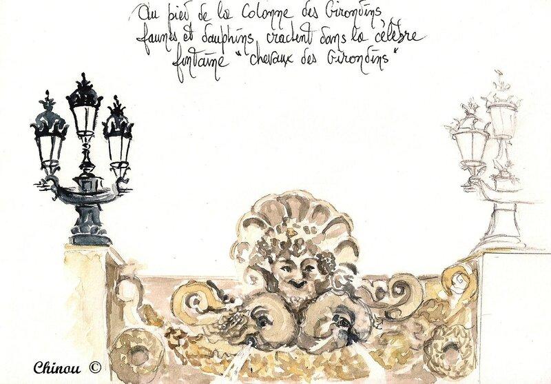 Fontaine des Girondins Bordeaux