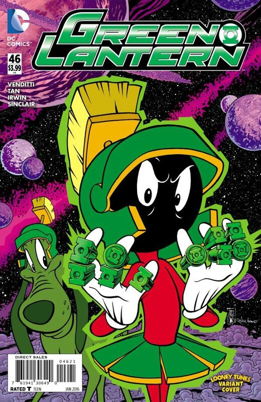 green lantern 46 looney tunes variant