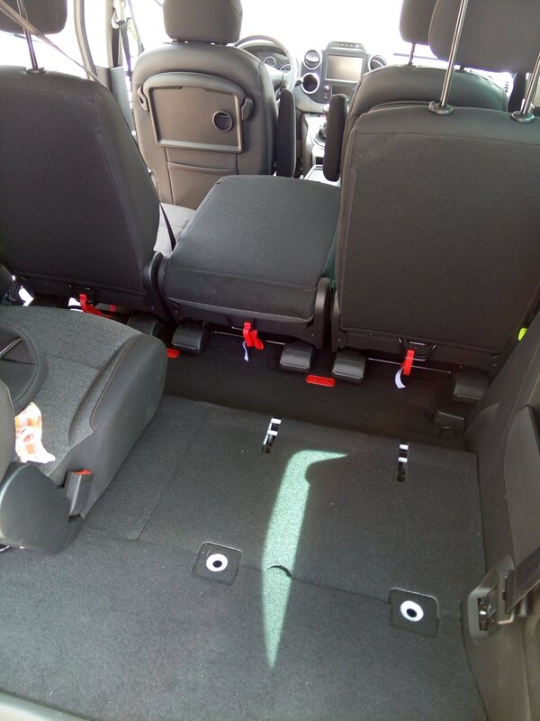 Nouveau berlingo Euro 6 multispace HDI 120 7 places