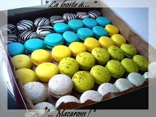 boite macarons