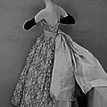 Cristóbal Balenciaga, robe du soir en dentelle de Dognin, 1951
