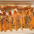 Butternut aux pistaches