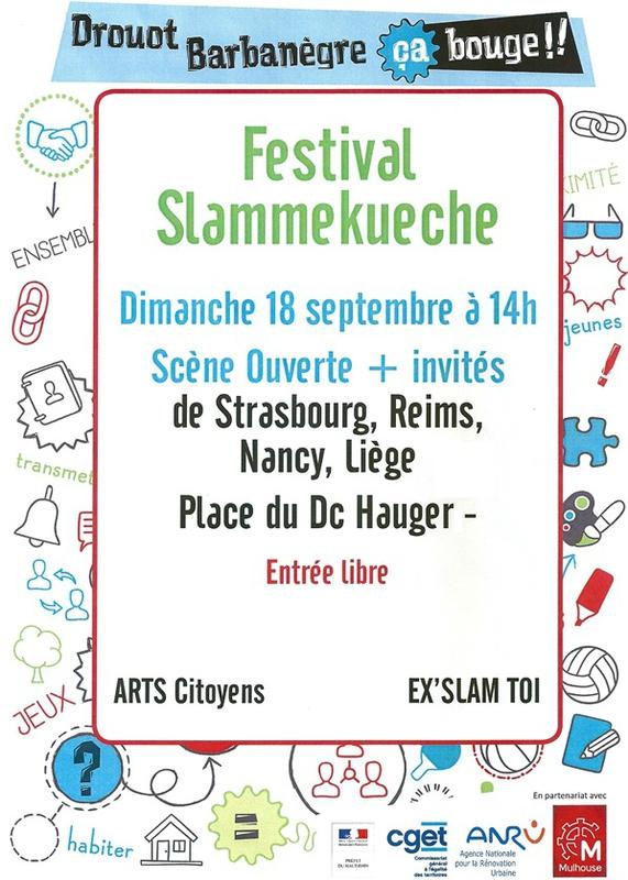 Quartier Drouot - Festival Slammekueche