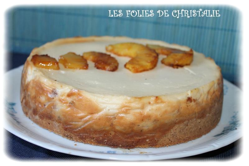 Cheesecake ananas 4
