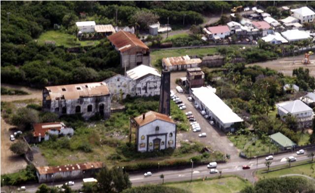 Capture usine de grand Bois en ruine