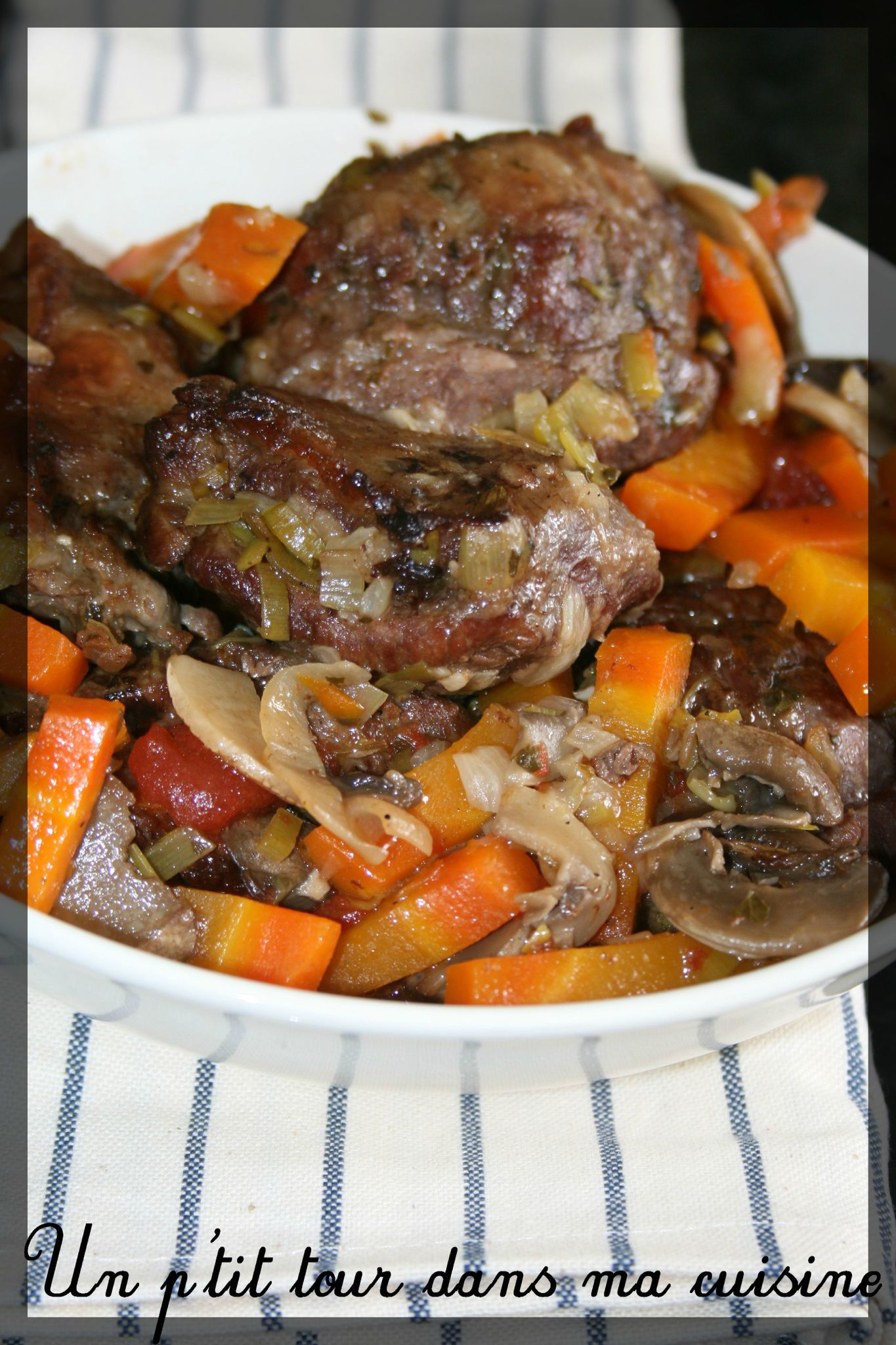 P 39 tites joues de porc en daube la bi re un p 39 tit tour dans ma cuisine - Joue de porc cocotte minute ...