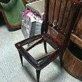 39 chaise style napoléon avant
