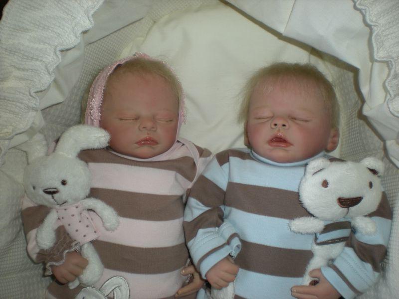 Les Bébés Filles Jumeaux : Photo de les jumeaux bébé reborn moselle