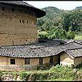 Architecture de chine: fujian, la maison hakka