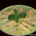 Ananas à la menthe