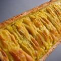 Deux jaunes qui me restaient sur les bras où ma première tarte amandine...