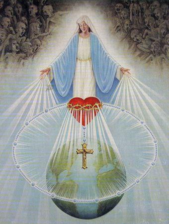 Vierge du Rosaire du Coeur d'Accueil